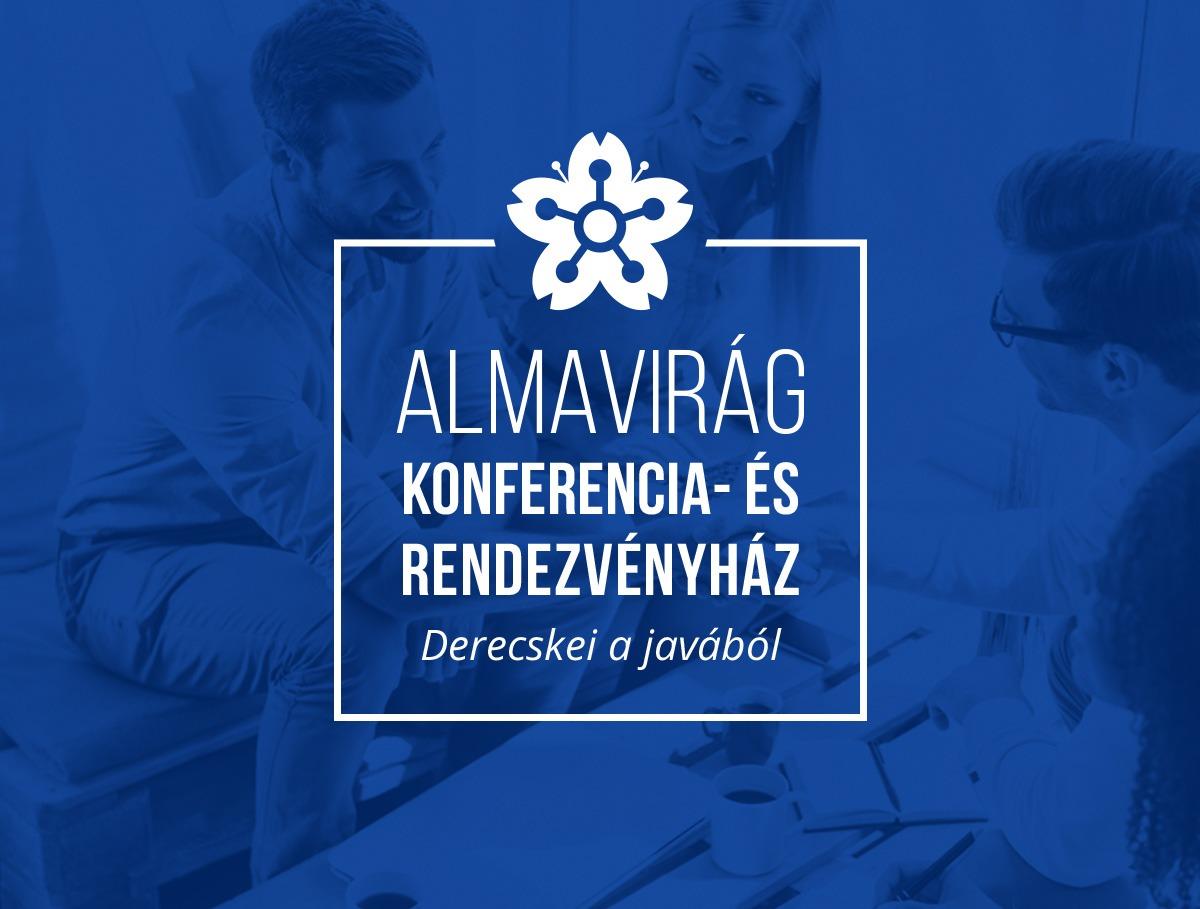 Almavirág Konferenciaház logo