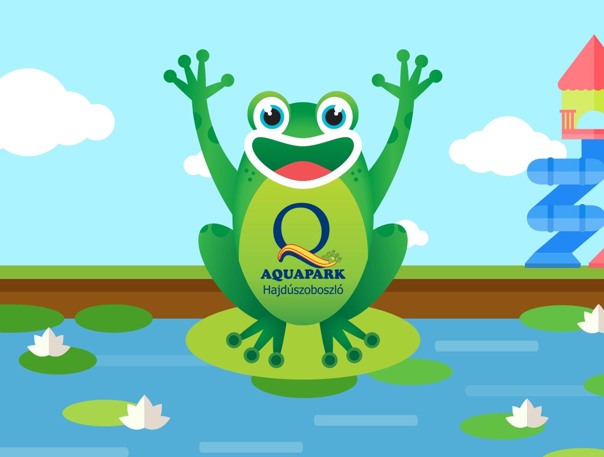 Aquapark Hajdúszoboszló logo