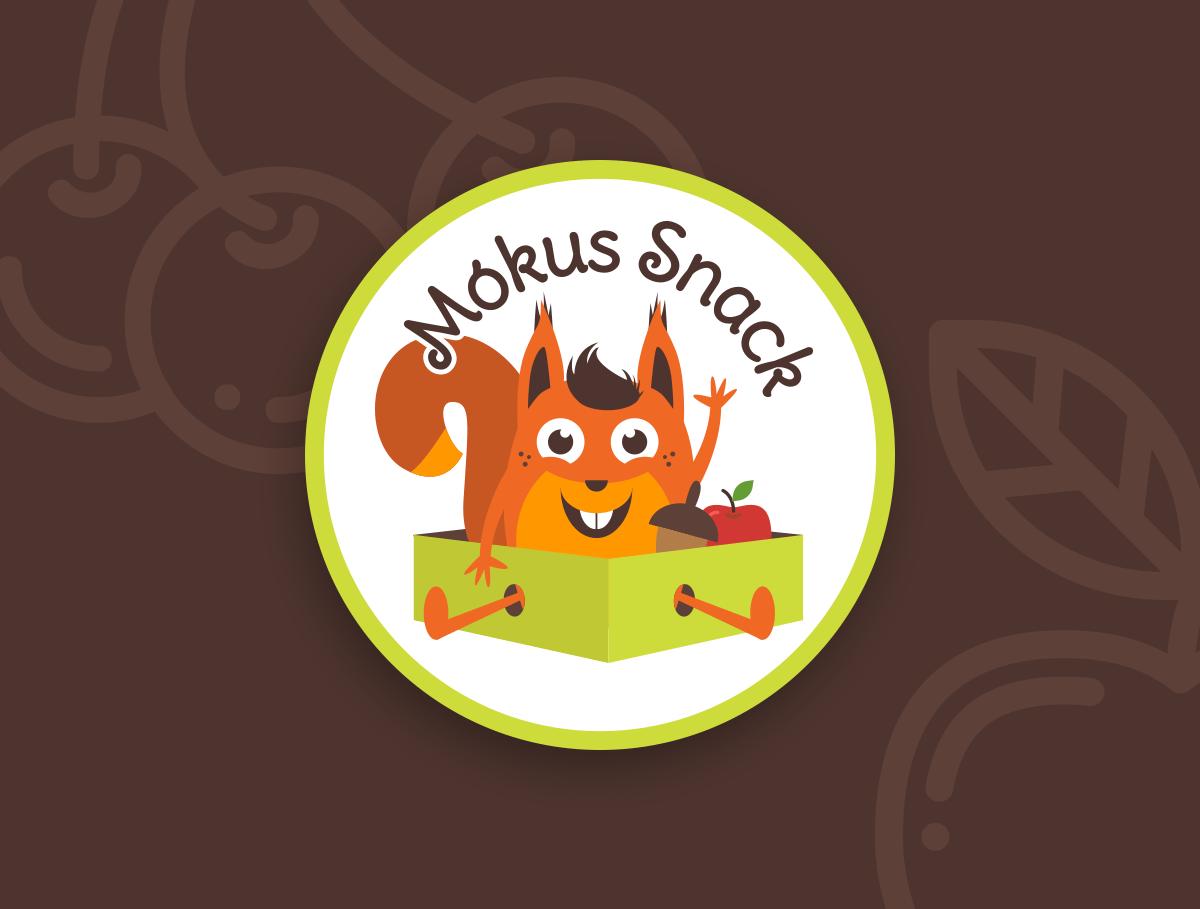 Mókus Snack logo