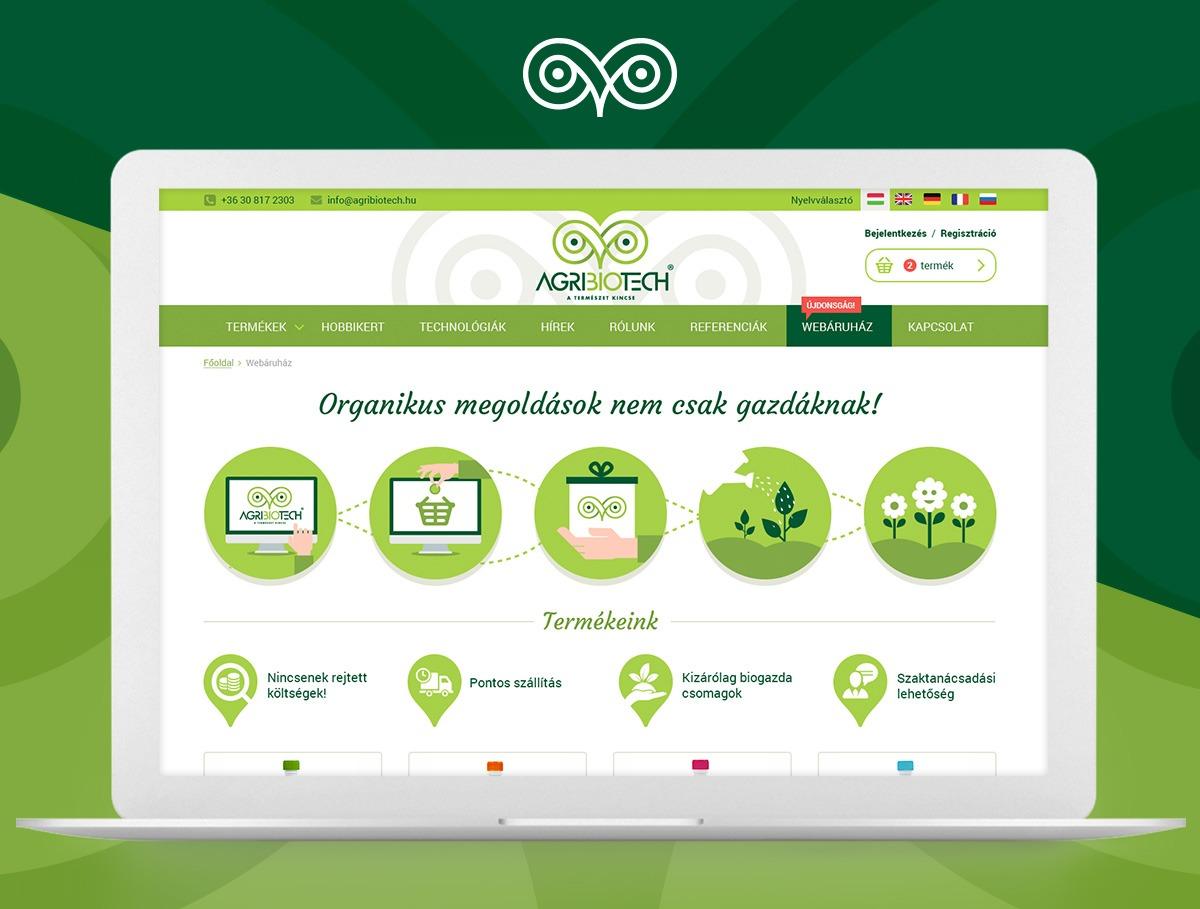 Agrobiotech webdesign