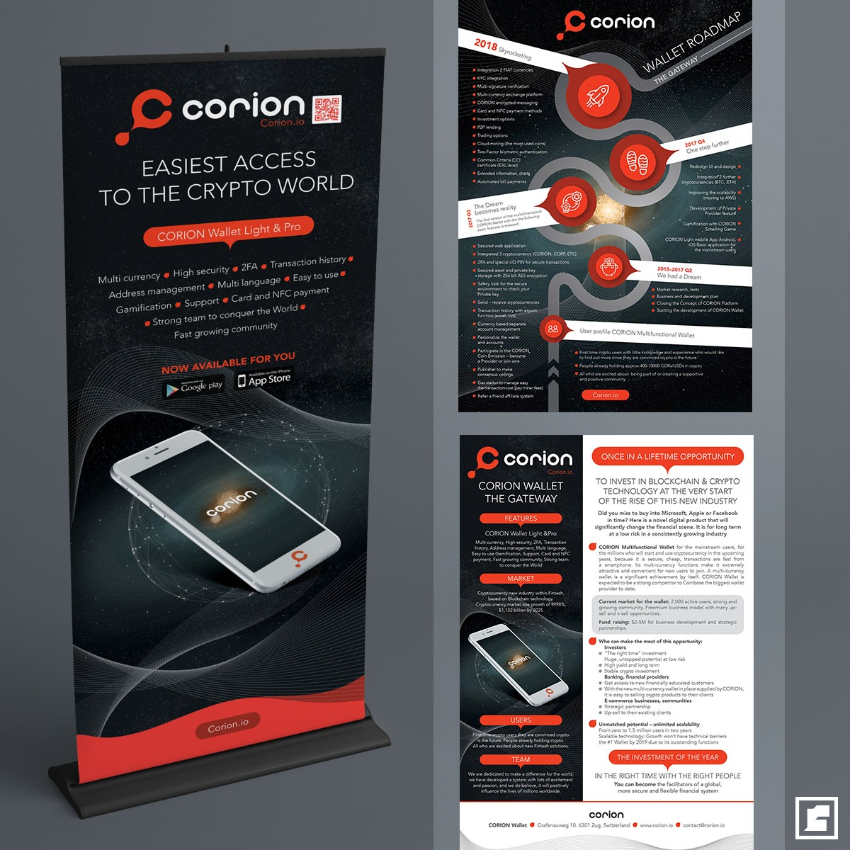 Corion roll-up