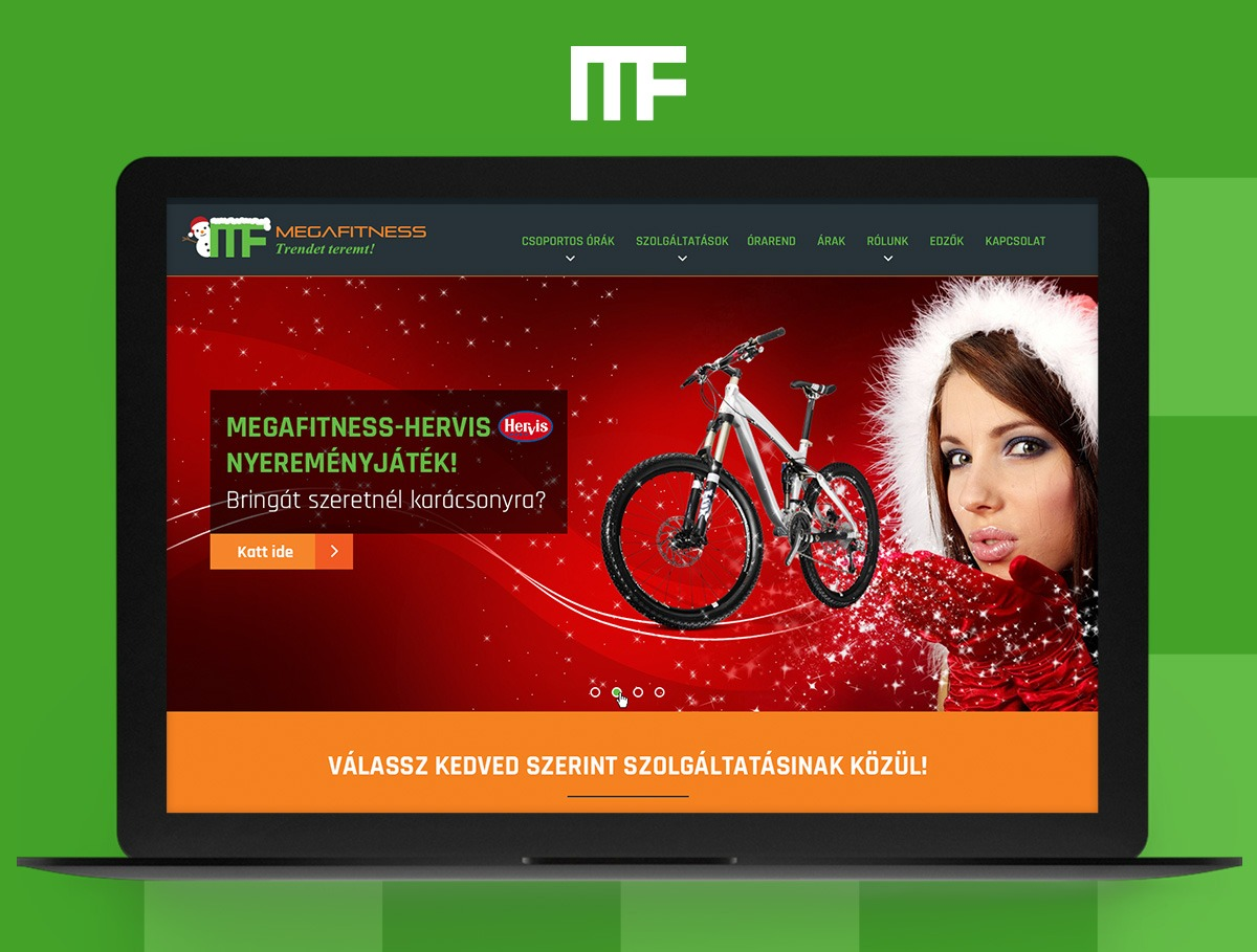 Megfitness webdesign