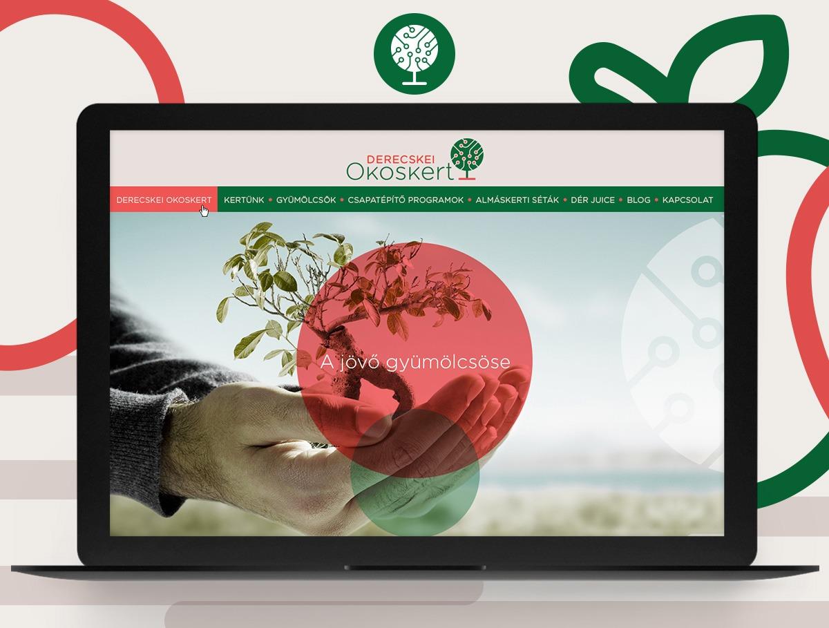 Derecskei Okoskert webdesign