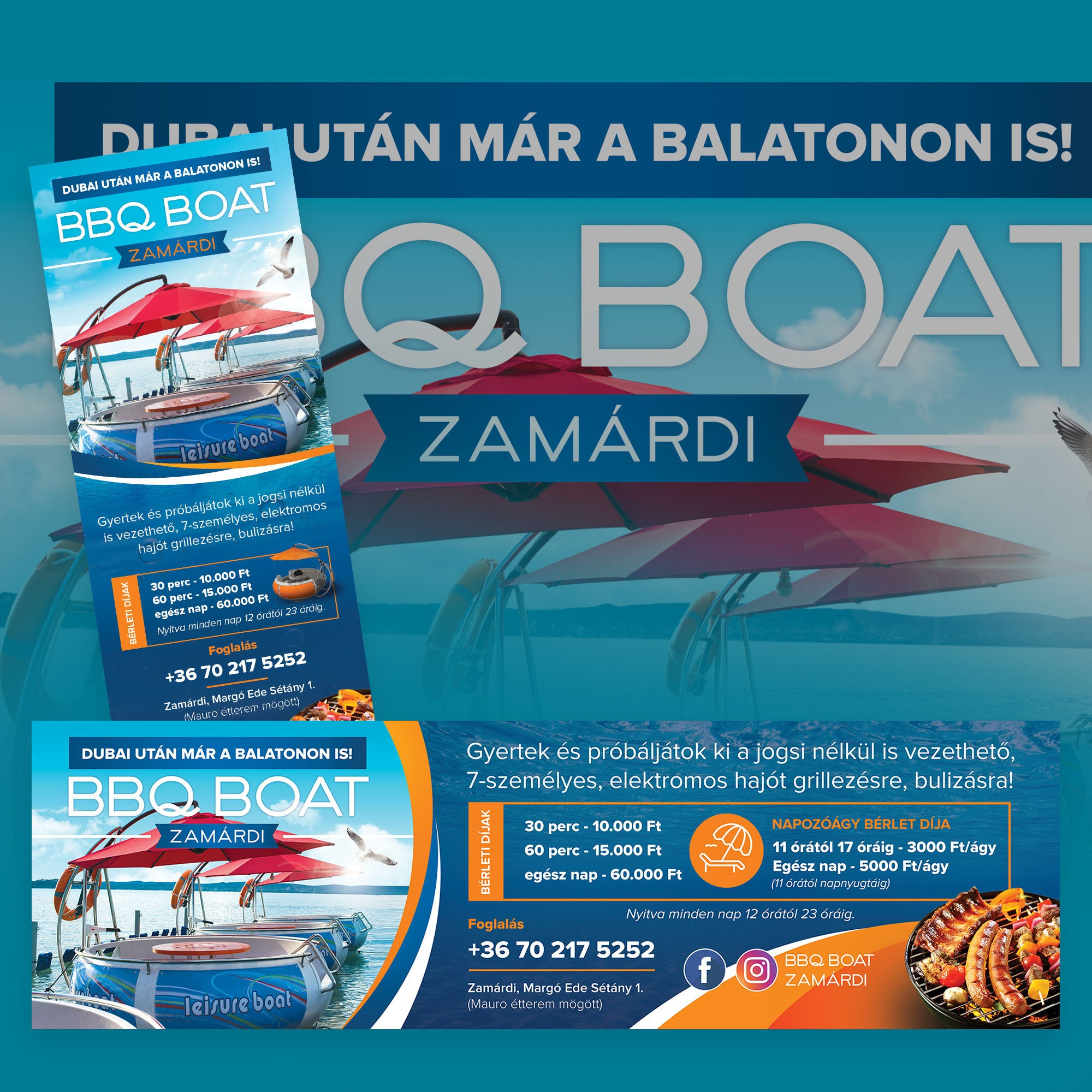 BBQ Boat Zamárdi