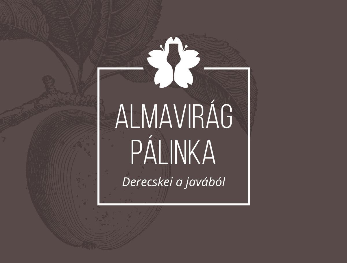 Almavirág Pálinka logo